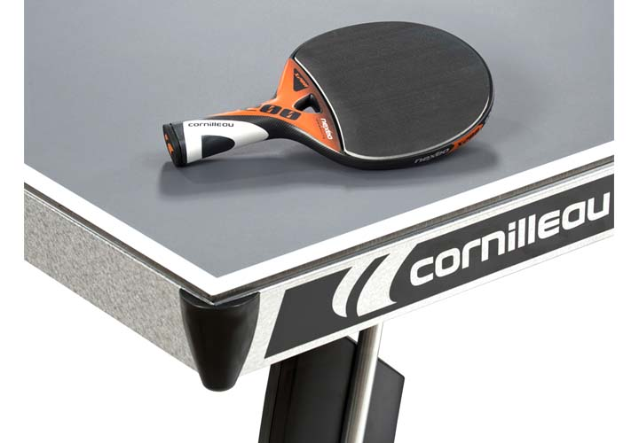 Cornilleau - table 400M Crossover Outdoor - coin table grise