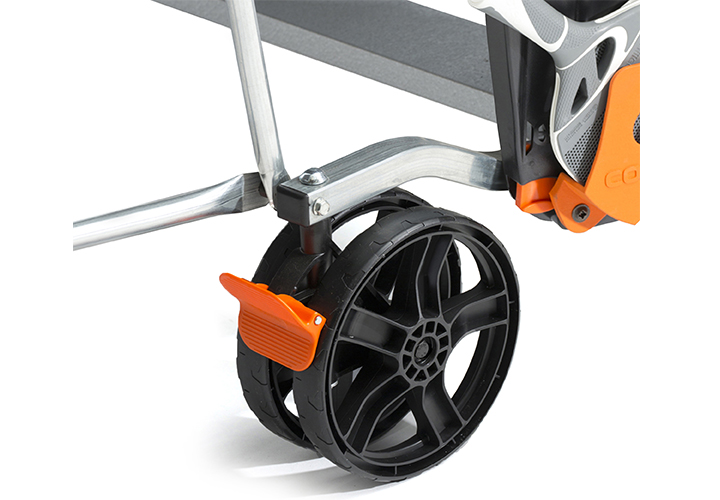 Cornilleau - table 150S Crossover Outdoor - roue avec frein