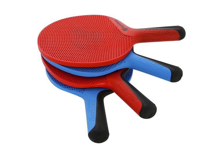 454754 raquette-cornilleau-softbat_quattro-softbatx4_colonne_proche-bleu_rouge
